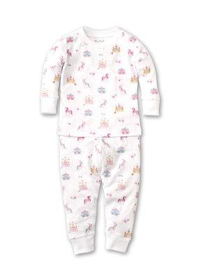 Kissy Kissy KK Pajama Set Snug PRT Unicorn Castle Pink