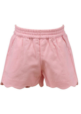 Proper Peony Proper Peony Susie Scallop Shorts in Pink