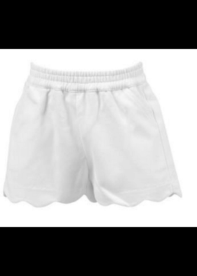 Proper Peony Proper Peony Susie Scallop Shorts in White