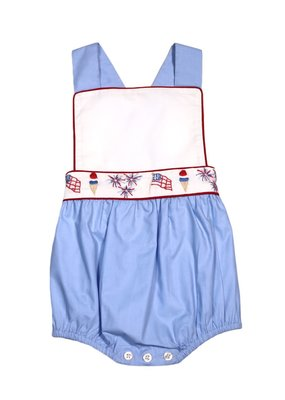 Christian Elizabeth & Co Christian Elizabeth & Co. Patriotic Parade Sunsuit