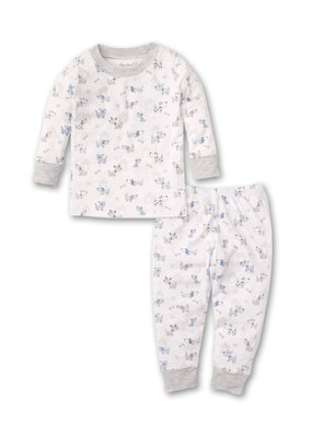 Kissy Kissy Kissy Kissy Pajama Set Snug PRT Pint Size Pups in Multi