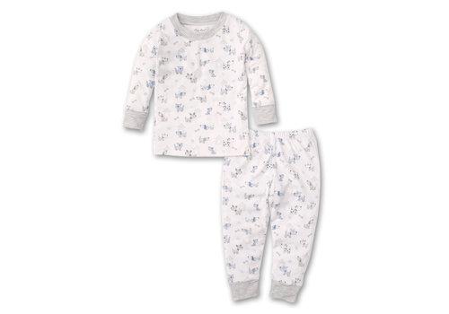 Kissy Kissy Kissy Kissy Pajama Set Snug PRT Pint Size Pups in Multi