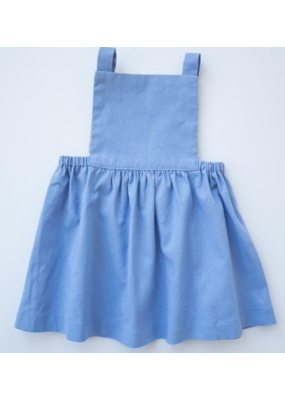 thimble Thimble Collection Pinafore Dress In Summer Storm