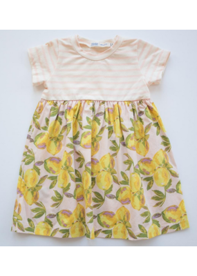 thimble Thimble Everyday Dress In Lemonade Stand