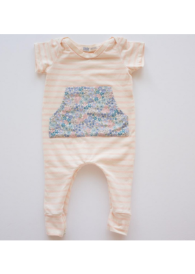 thimble Thimble Everyday Romper In Flower Girl
