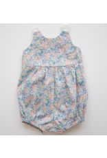 thimble Thimble Knotted Romper In Flower Girl