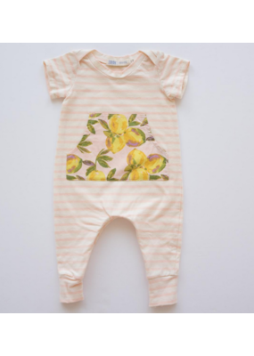 thimble Thimble Everyday Romper in Lemonade Stand