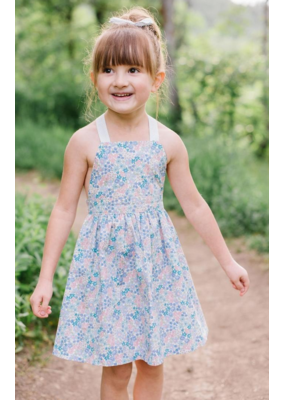 thimble Thimble Collection T-Back Dress In Flower Girl