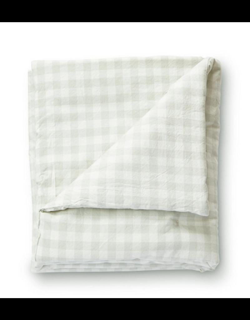 Pehr Pehr Check Mate Toddler Blanket Gray