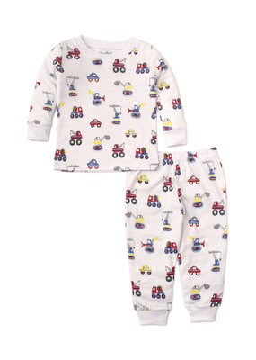 Kissy Kissy Kissy Kissy Pajama Set Snug PRT PJ's Trucks in Multi