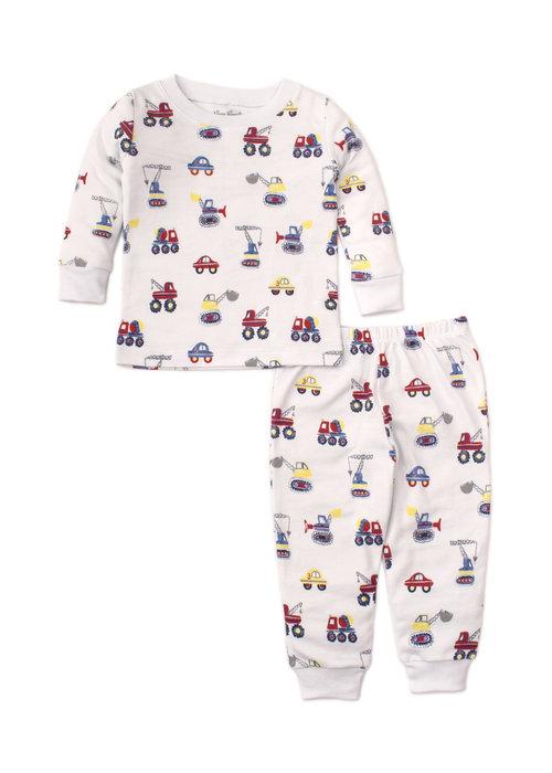 Kissy Kissy Kissy Kissy Pajama Set Snug PRT PJ's Trucks in Multi