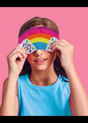 IS Rainbow Fleece Eye Mask
