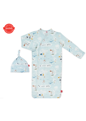 Magnetic Baby MAG Sea the World Modal Magnetic Gown Set