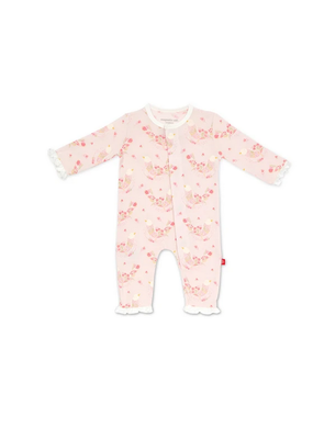 Magnetic Baby Magnetic Baby Birds of Paradise Modal Magnetic Coverall