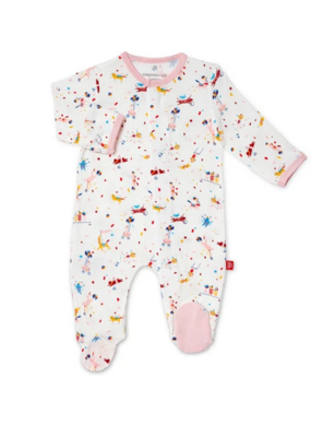 Magnetic Baby Magnetic Baby Pink Carnivale Modal Magnetic Footie