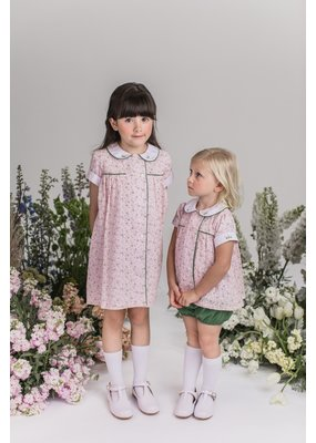 Dondolo Dondolo Blossom Dress in Pink