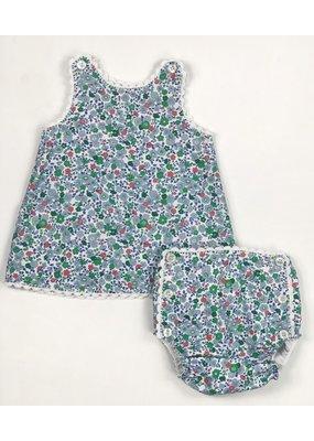 Peggy Green PG Heirloom Sun Set Salem Floral w/White Crochet