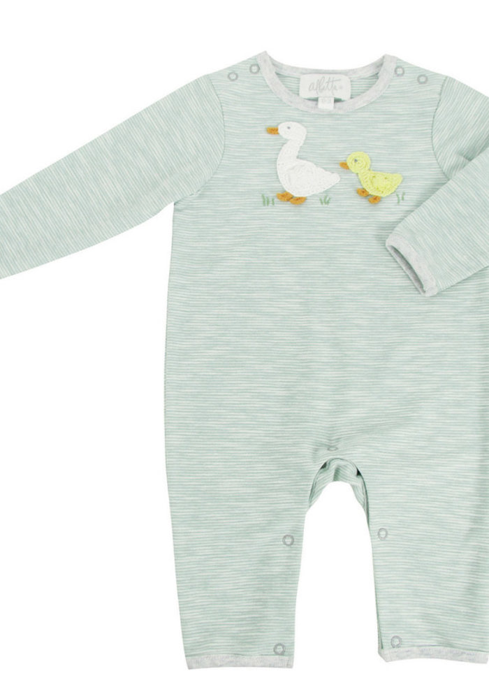 Albetta Crochet Domi Ducks Babygro