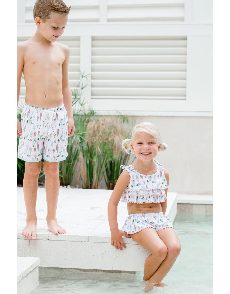 Charming Mary Charming Mary Two Piece Ice Cream Swimsuit