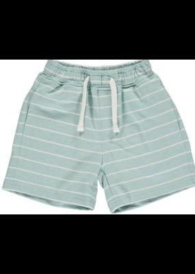 Me & Henry Me & Henry Aqua Stripe Jersey Shorts