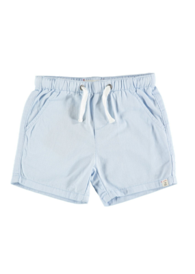 Me & Henry Me & Henry Pale Blue Twill Shorts