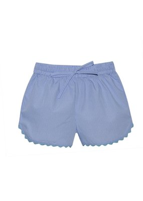 Lullaby Set LS Bailey Short Blue Tie w/ric rac trim