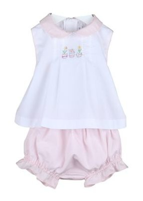 Sophie & Lucas Sophie & Lucas Sprout 2-Piece Girl Set Pink