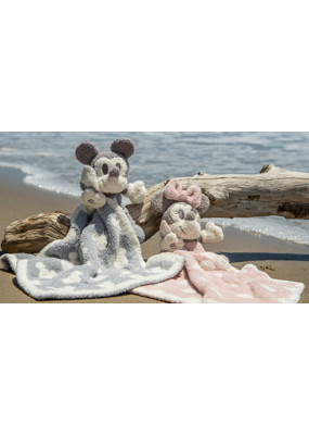 Barefoot Dreams Barefoot Dreams CozyChic Vintage Mickey Mouse Buddie Blanket in Ocean/Multi