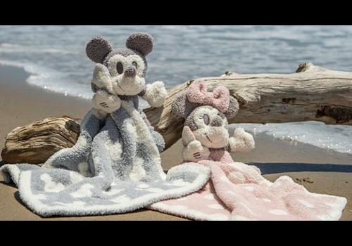 Barefoot Dreams Barefoot Dreams CozyChic Vintage Mickey Mouse Buddie Blanket in Ocean/Multi