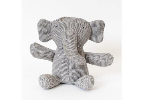 Zestt Organics Zestt Organics Classic Knit Elephant (Gray)