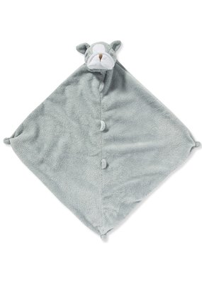 Angel Dear Angel Dear Grey Bulldog Blankie