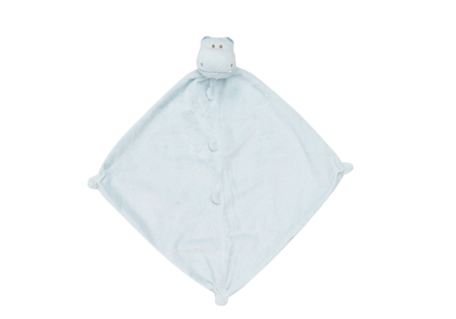 Angel Dear AD Blue Hippo Blankie