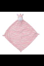 Angel Dear AD Pink Zebra Blankie