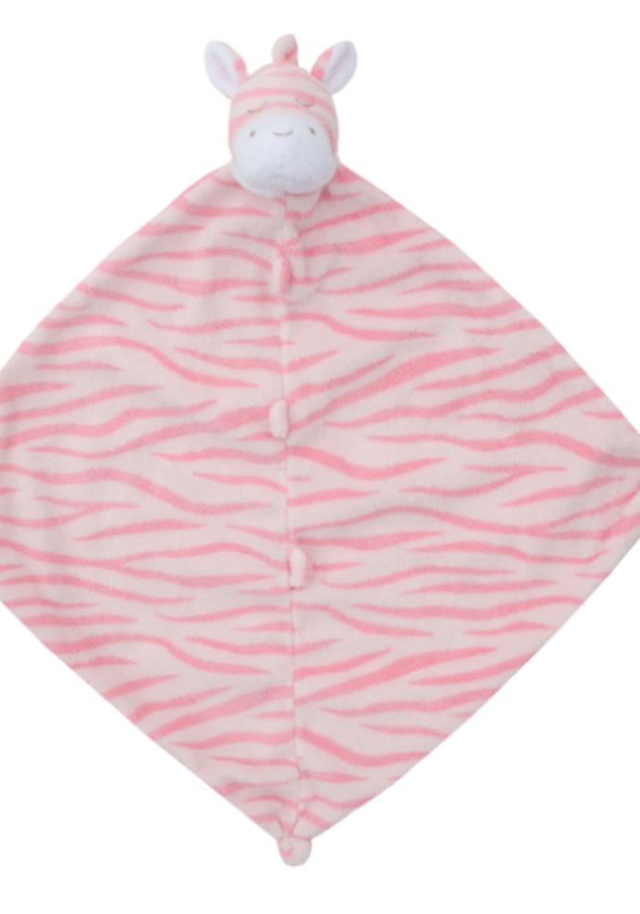 AD Pink Zebra Blankie