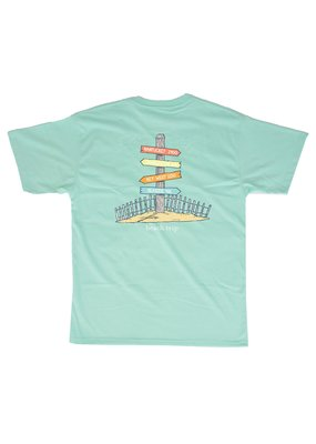 Properly Tied PT Lil Ducklings Signature S/S Tee Beach Trippin - Seafoam