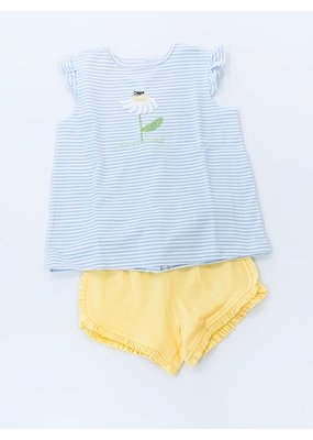Squiggles Squiggles Daisy & Bee Top & Short