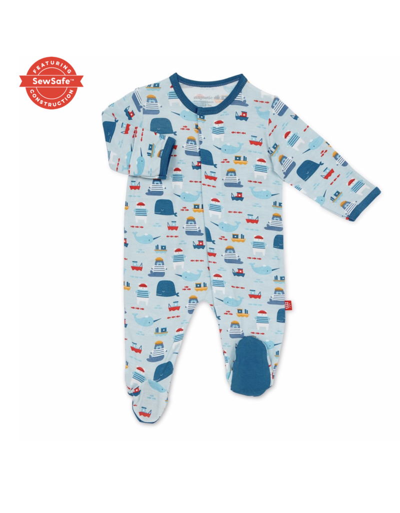 Magnetic Baby Magnetic Me Oh Buoy! Modal Magnetic Footie