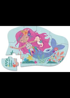 Crocodile Creek 12 piece Mini Puzzle - Mermaid Dreams