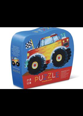 Crocodile Creek 12 Pc Mini Puzzle -Monster Truck