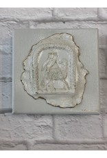 Nikki Hanna  Art 4x4 Canvas - Lamb Gray