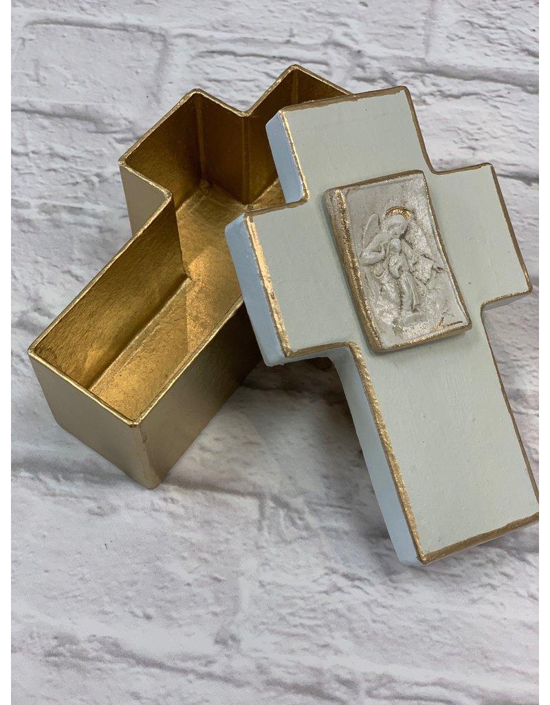 Nikki Hanna Art Cross Box - Guardian Angel