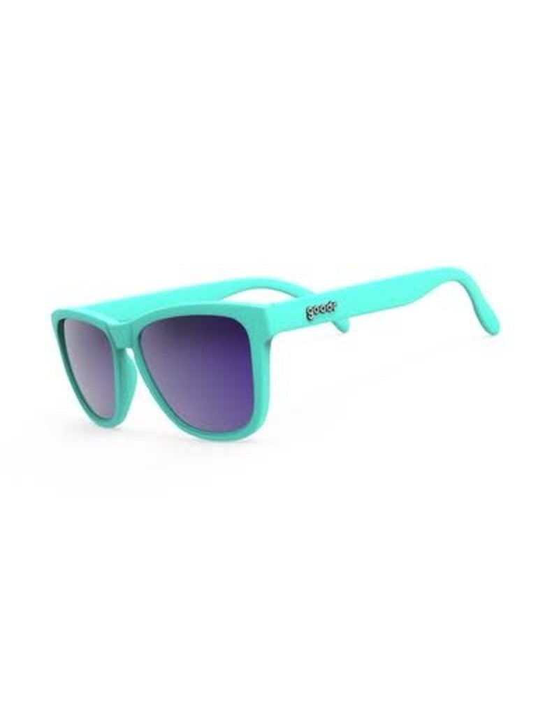 Goodr Goodr Sunglasses - Electric Dinotopia Carnival