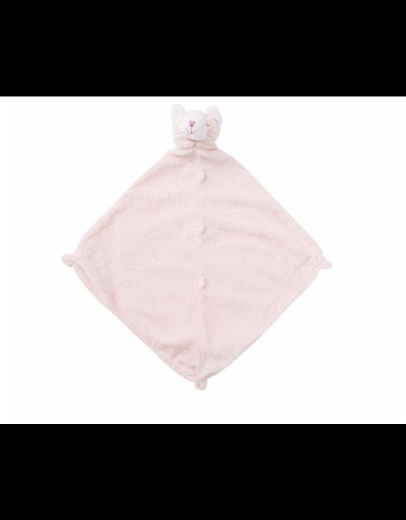 Angel Dear Angel Dear Pink Kitty Blankie