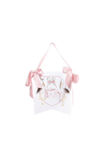 Over the Moon Over the Moon Welcome Baby Hanger - Pink