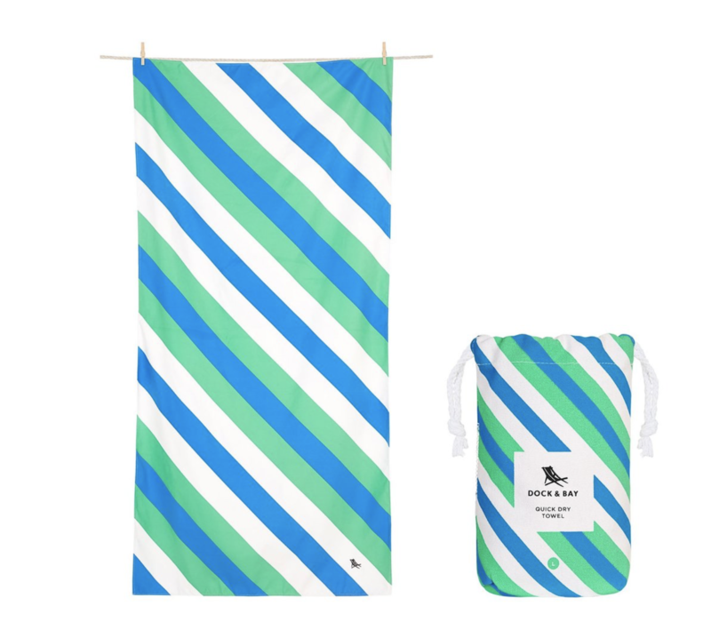 Dock and Bay Quick Dry Towel/Patterned/Sway/Large