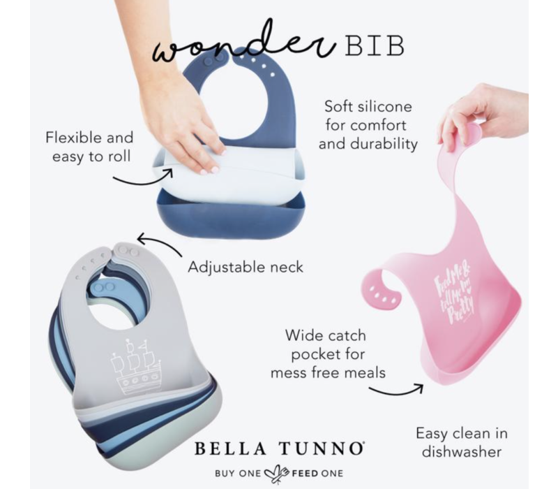 Bella Tunno Choose Joy Wonder Bib
