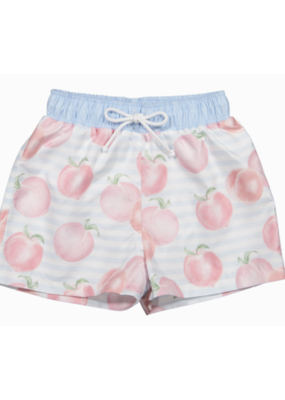Sal & Pimenta Sal and Pimenta Georgia Peaches Swim Trunks