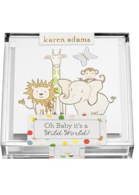 "Karen Adams Karen Adams Acrylic Box Enclosures ""Wild"""