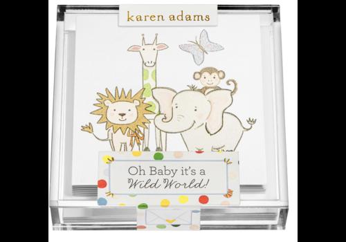 "Karen Adams Karen Adams Acrylic Box Enclosures ""Wild"""