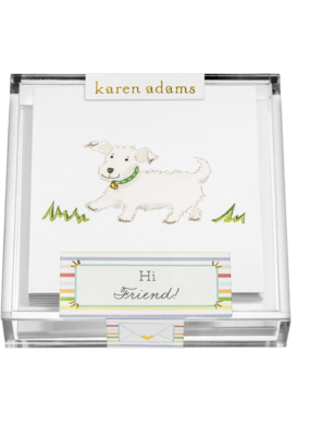 "Karen Adams Karen Adams Acrylic Box Enclosures ""Friend"""